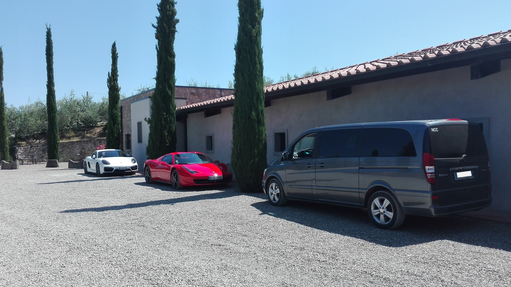 Noleggio Mercedes Classe V